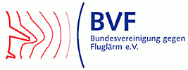 BVF Germany German Association against aircraft noise airplane airport aiports  noise control health hazards quality of life
